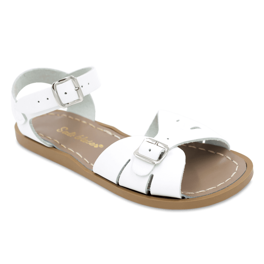 Salt Water Sandals :: Salt Water Mom Classic White
