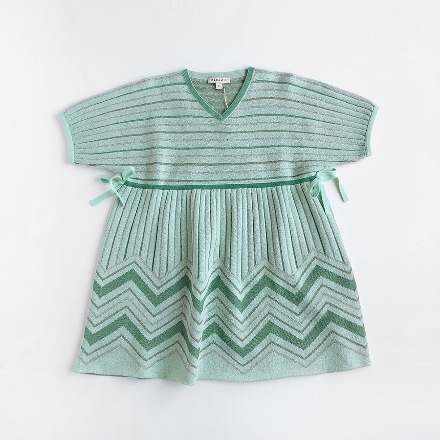 Caramel :: Jellyfish Dress Mint