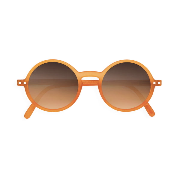 Adult Sunglasses #G - Orange Flash