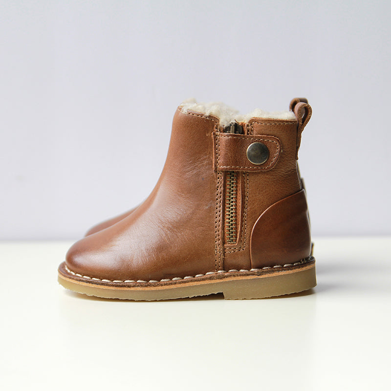 Youngsoles :: Winston Boot Tan Burnished