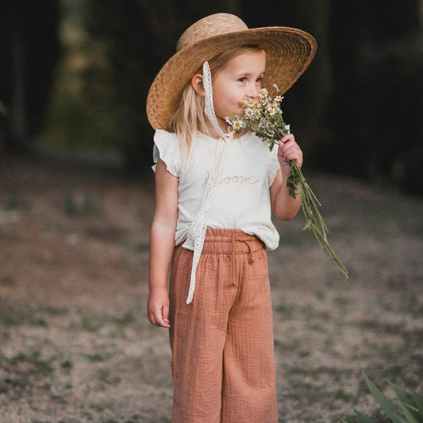 Rylee & Cru :: Ribbon Wide Brim Hat