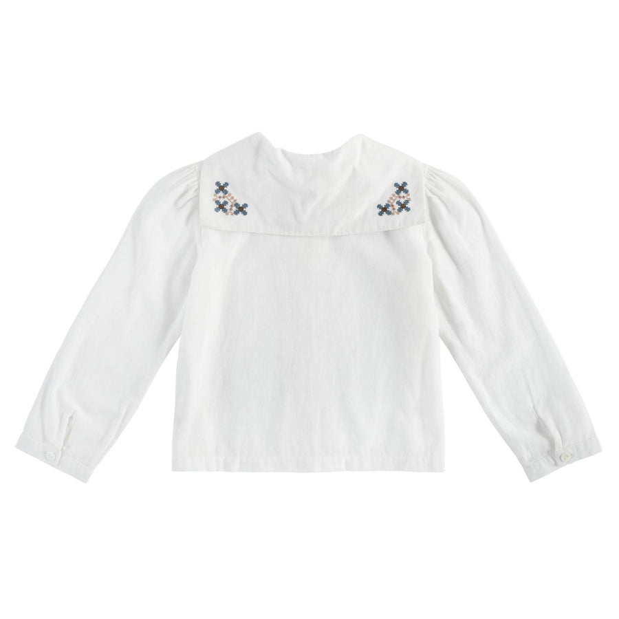 Little Cotton Clothes :: Sidonie Sailor Blouse Cross Stitch Embroidery