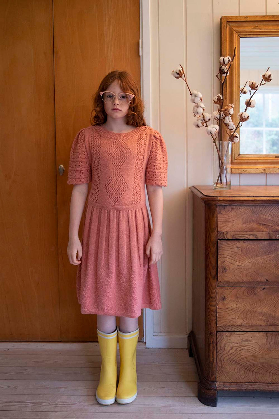 Fish And Kids :: Pink Knitted Dress
