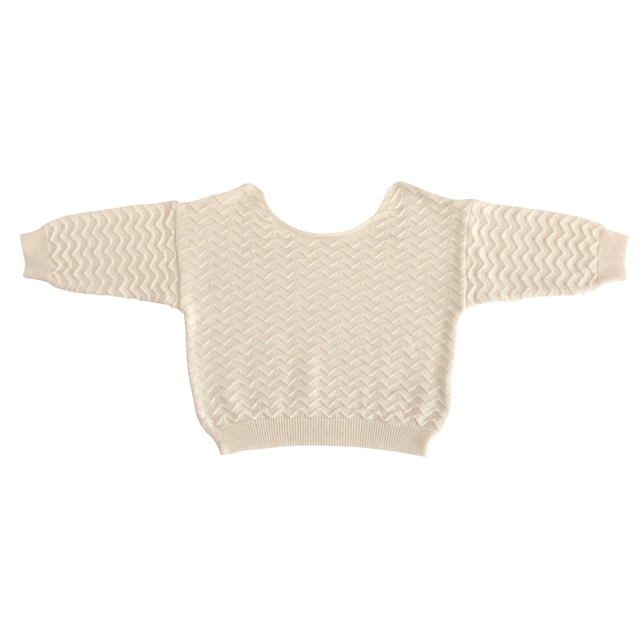 Liilu :: Knit Sweater Milk