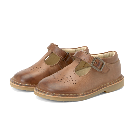 Youngsoles :: Penny T-Bar Burnished Tan