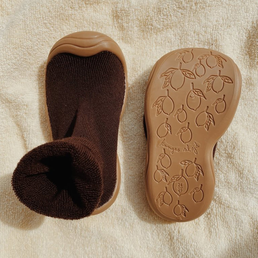 Konges Sloejd :: Sock Slippers Mocca