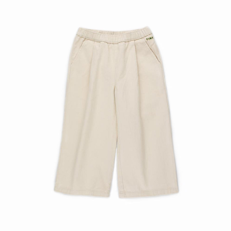 Tiny Cotton :: Solid Wide Pant Cream