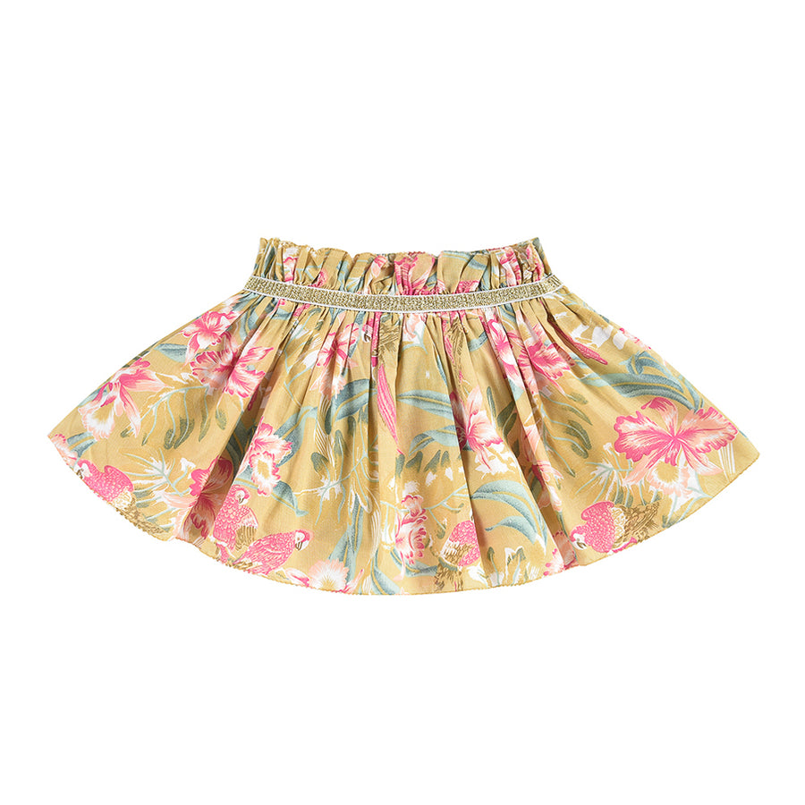 Louise Misha :: Salina Soft Honey Parrots Skirt
