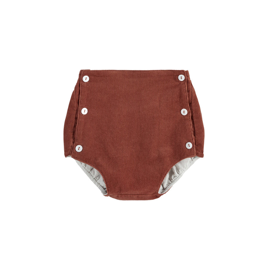 Little Cotton Clothes :: Folkstone Bloomers Clay Velvet