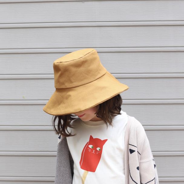 Small Lot :: Child's Canvas Hat - Ginger