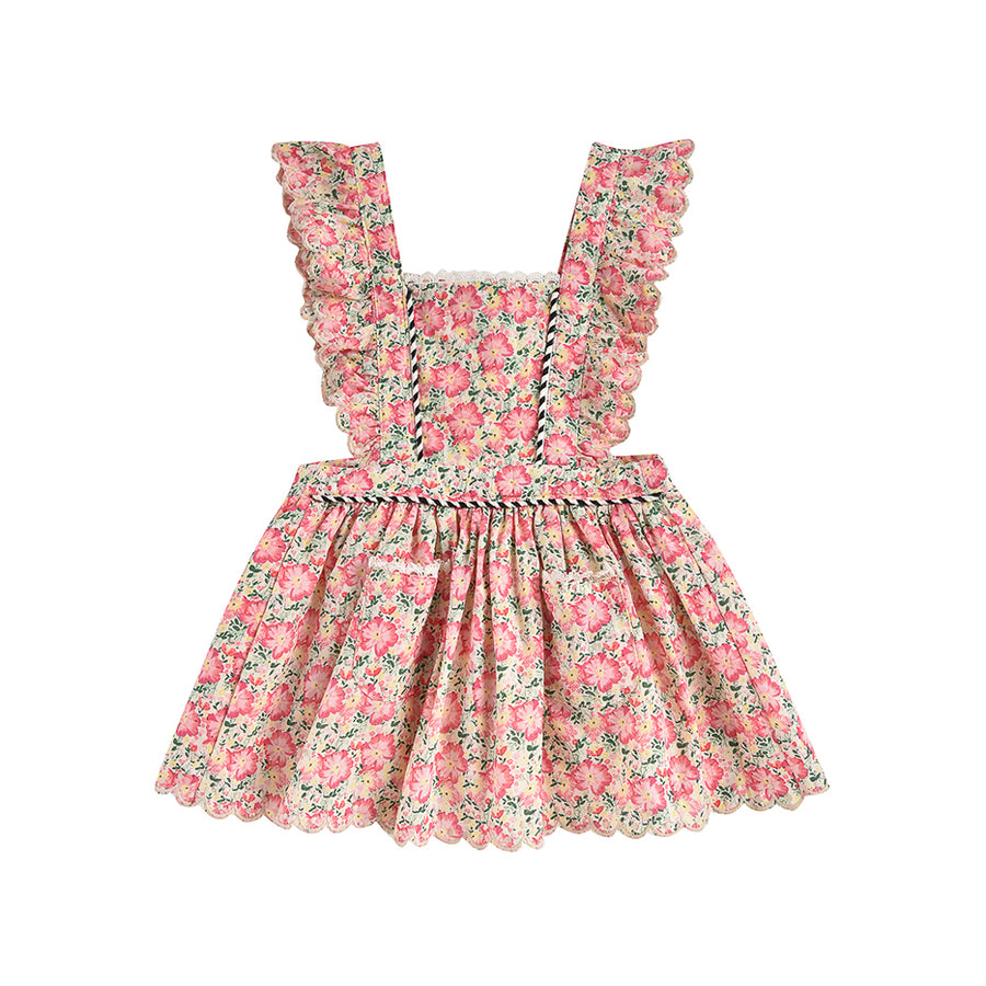 Louise Misha :: Mistinguette Pink Meadow Dress
