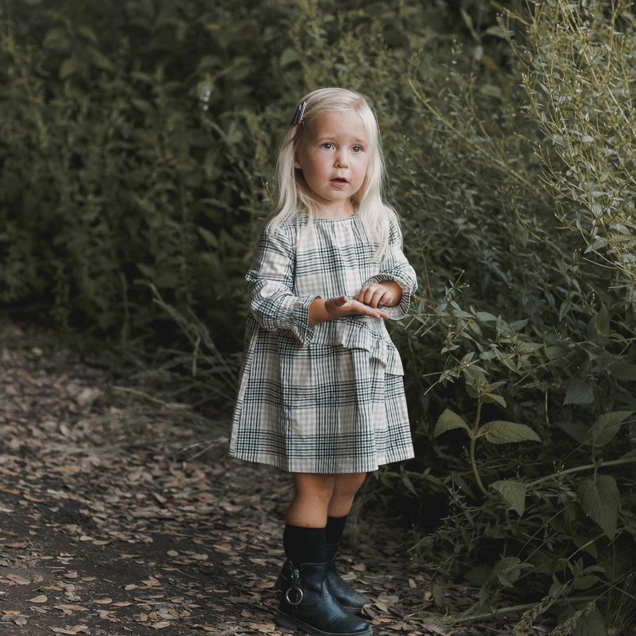 Rylee & Cru :: Flannel Hazel Dress Forest