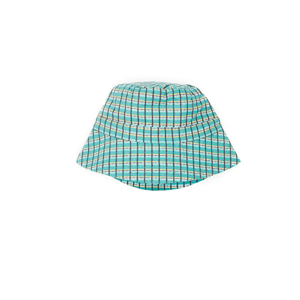 Wembley Hat Tourmaline Painted Check
