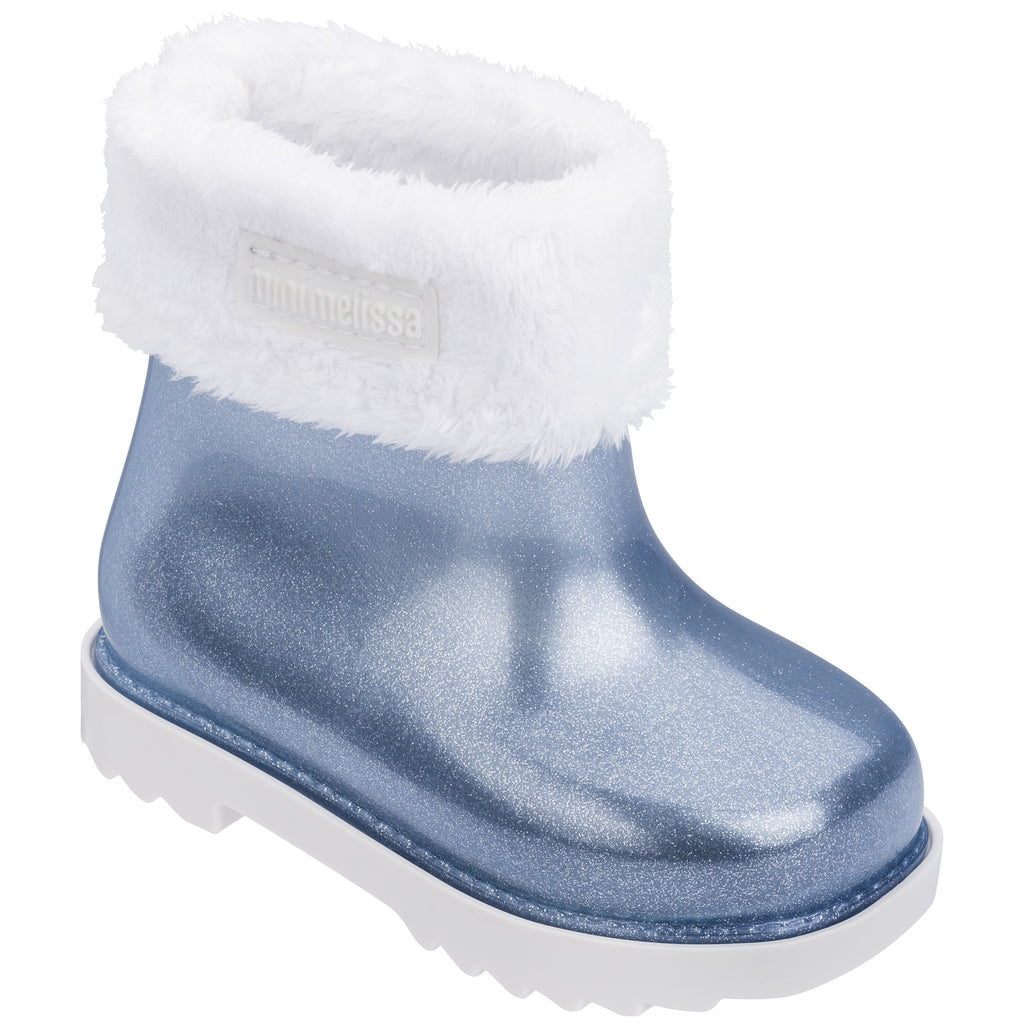 Winter Boot White Blue