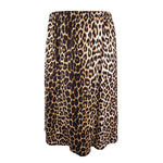 Vintage Plus Size Skirts for Women 4XL 5XL 6XL 8XL Leopard Print Comfortable Casual High Waist Straight Stretch Long Skirt H123