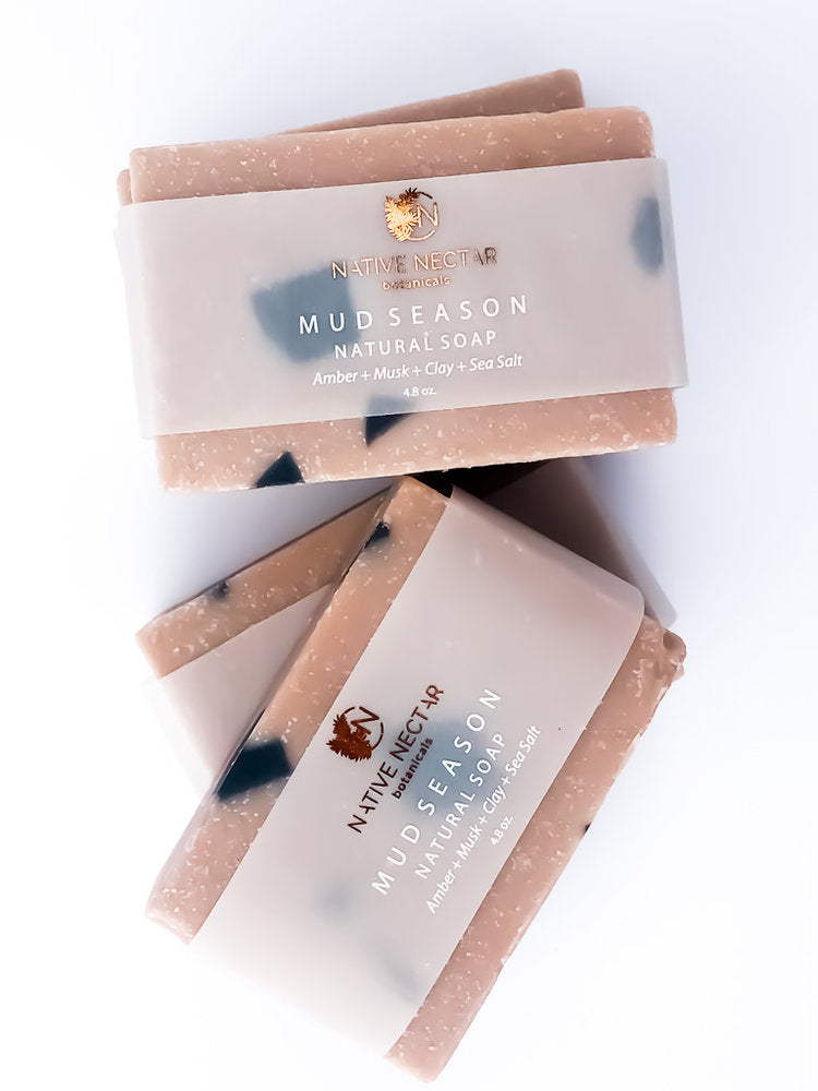 Native Nectar Botanicals Luxe Natural Bar Soap  - The Sweat Store