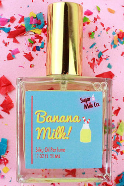 SUGAR MILK CO. PERFUME HAIR & BODY OIL - BANANA MILK  - The Sweat Store