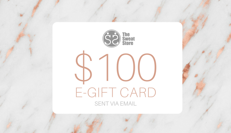The Sweat Store $100 GIFT CARD  - The Sweat Store