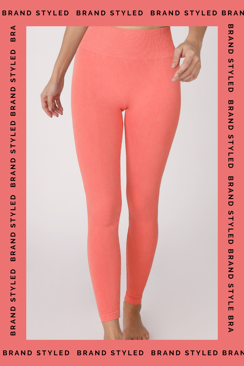 The Sweat Store exclusive HW VINTAGE JEGGING - Vintage Coral  - The Sweat Store