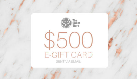 The Sweat Store $500 GIFT CARD  - The Sweat Store
