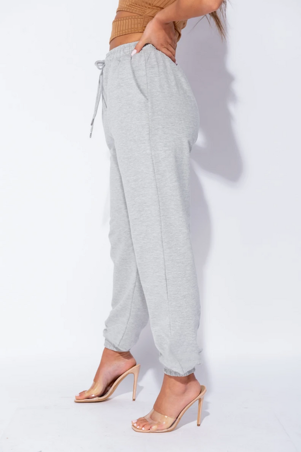 The Sweat Store exclusive KIKI OVERSIZED JOGGER - Grey  - The Sweat Store