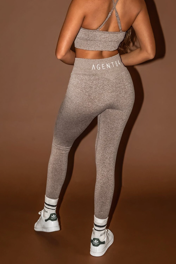 Agent84 BODYSCULPT V-LEGGING - Chai  - The Sweat Store