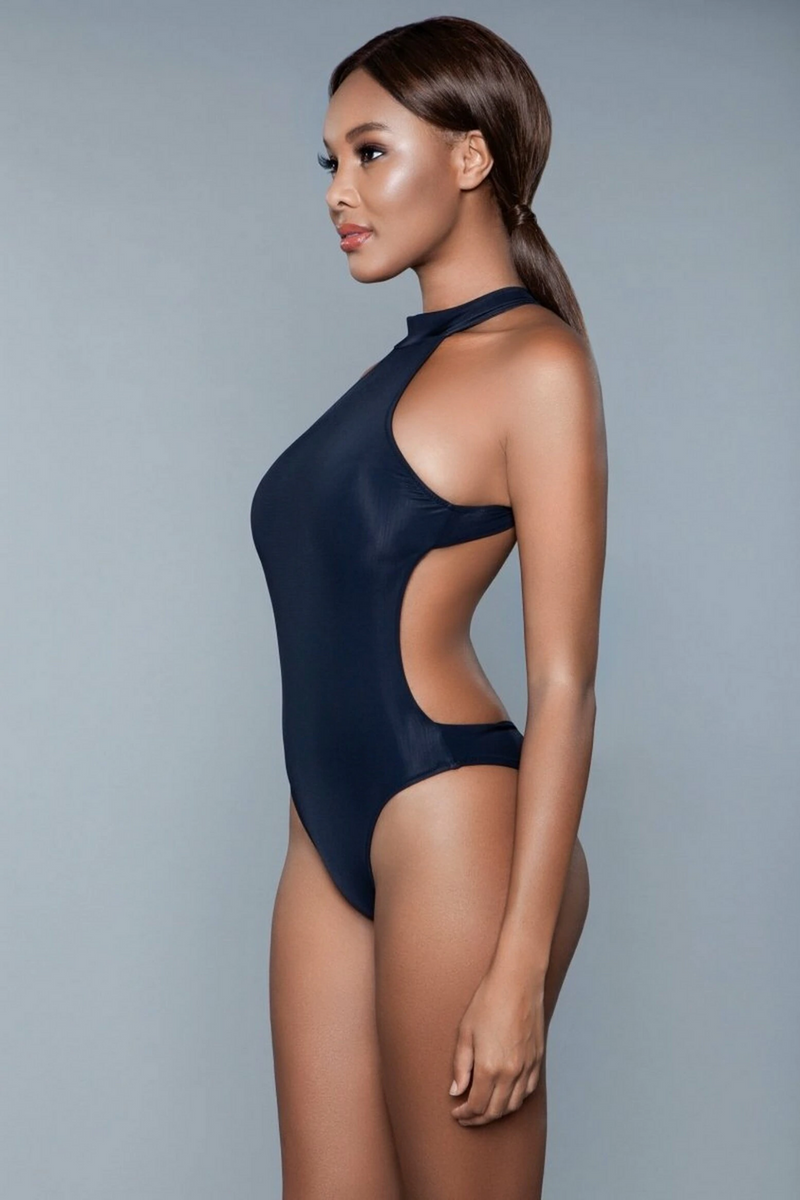 The Sweat Store exclusive ZOEY SWIMSUIT - Black  - The Sweat Store