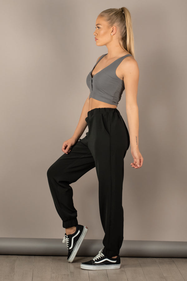 The Sweat Store exclusive ESTHER JOGGER - Black  - The Sweat Store