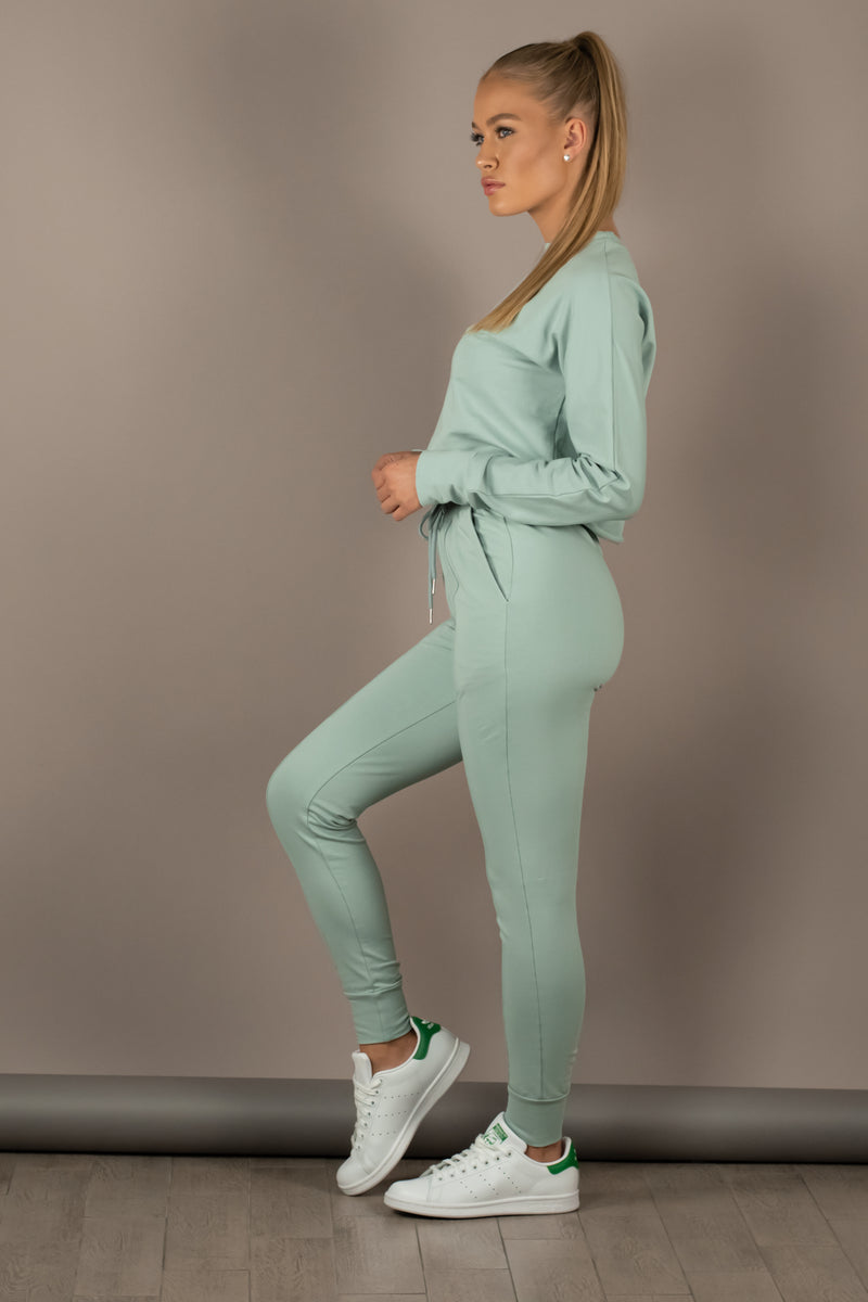 The Sweat Store exclusive HUG ME JOGGERS - Sea Green  - The Sweat Store
