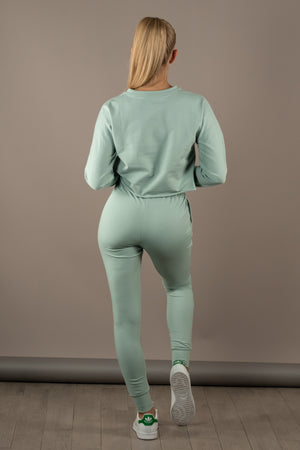 The Sweat Store exclusive PULL ME OVER SWEATER - Sea Green  - The Sweat Store