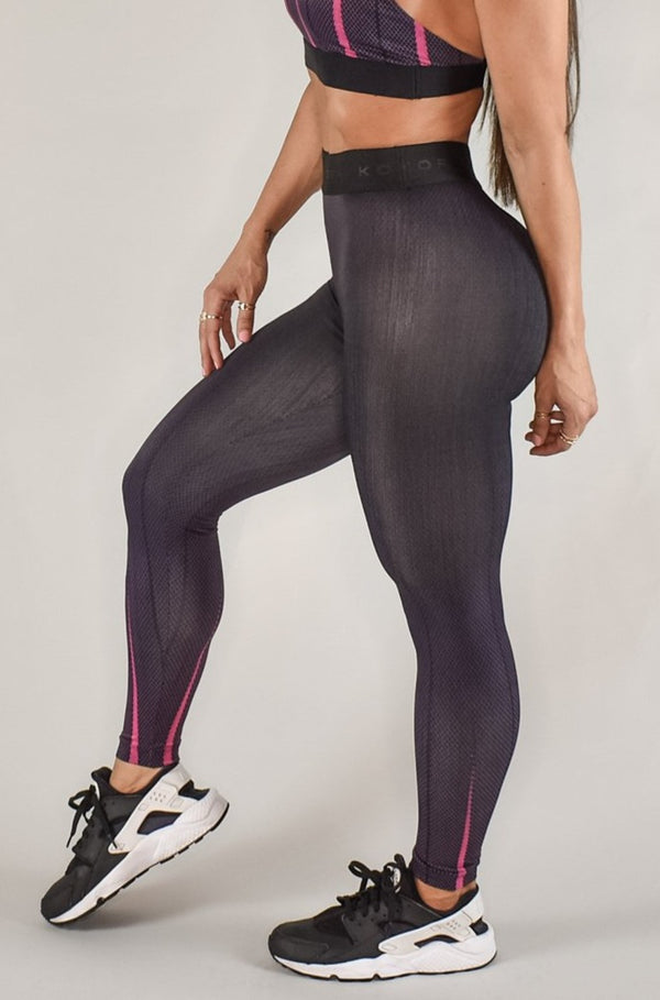 KORAL ADEN NOIR H. RISE LEGGING - SKYSCRAPER  - The Sweat Store