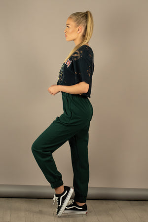 The Sweat Store exclusive ESTHER JOGGER - Jade Green  - The Sweat Store