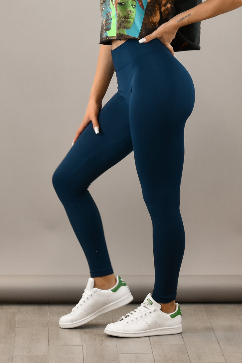 The Sweat Store exclusive UPGRADE LEGGING - NAVY  - The Sweat Store