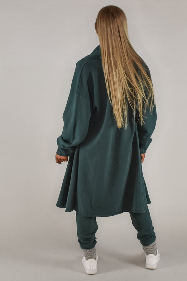 ETOILE CARDIGAN - JADE FRENCH TERRY