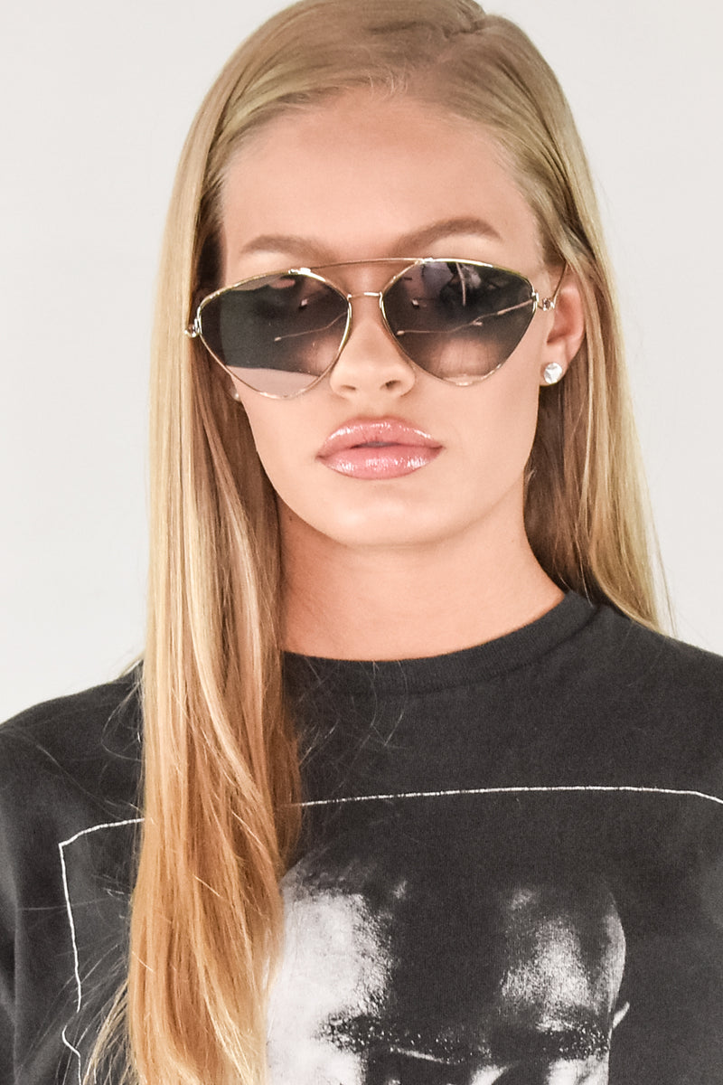 THE DRIP ICONIC AVIATORS - Rose Gold  - The Sweat Store