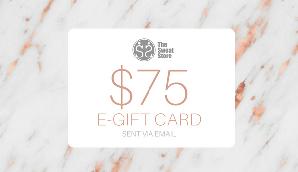 The Sweat Store $75 GIFT CARD  - The Sweat Store