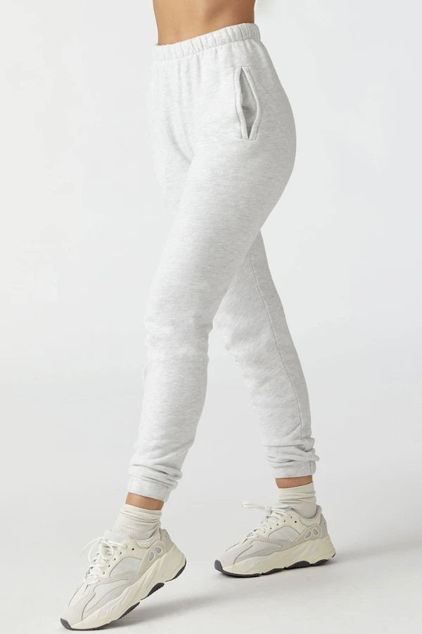 Joah Brown EMPIRE JOGGER - PEARL GREY  - The Sweat Store