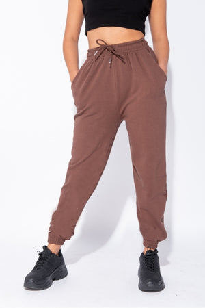 The Sweat Store exclusive KIKI OVERSIZED JOGGER - Teddy  - The Sweat Store