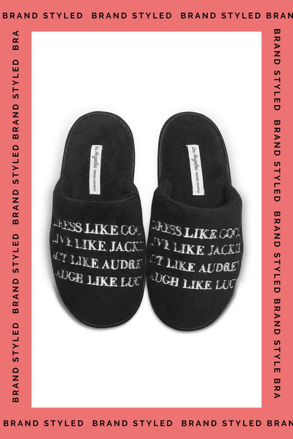 LA Trading Co SLIPPERS -  Dress Like Coco B  - The Sweat Store