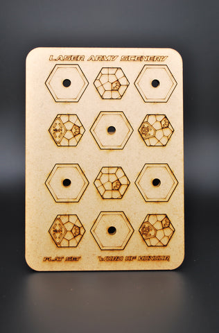 Word of honor hexagon bases