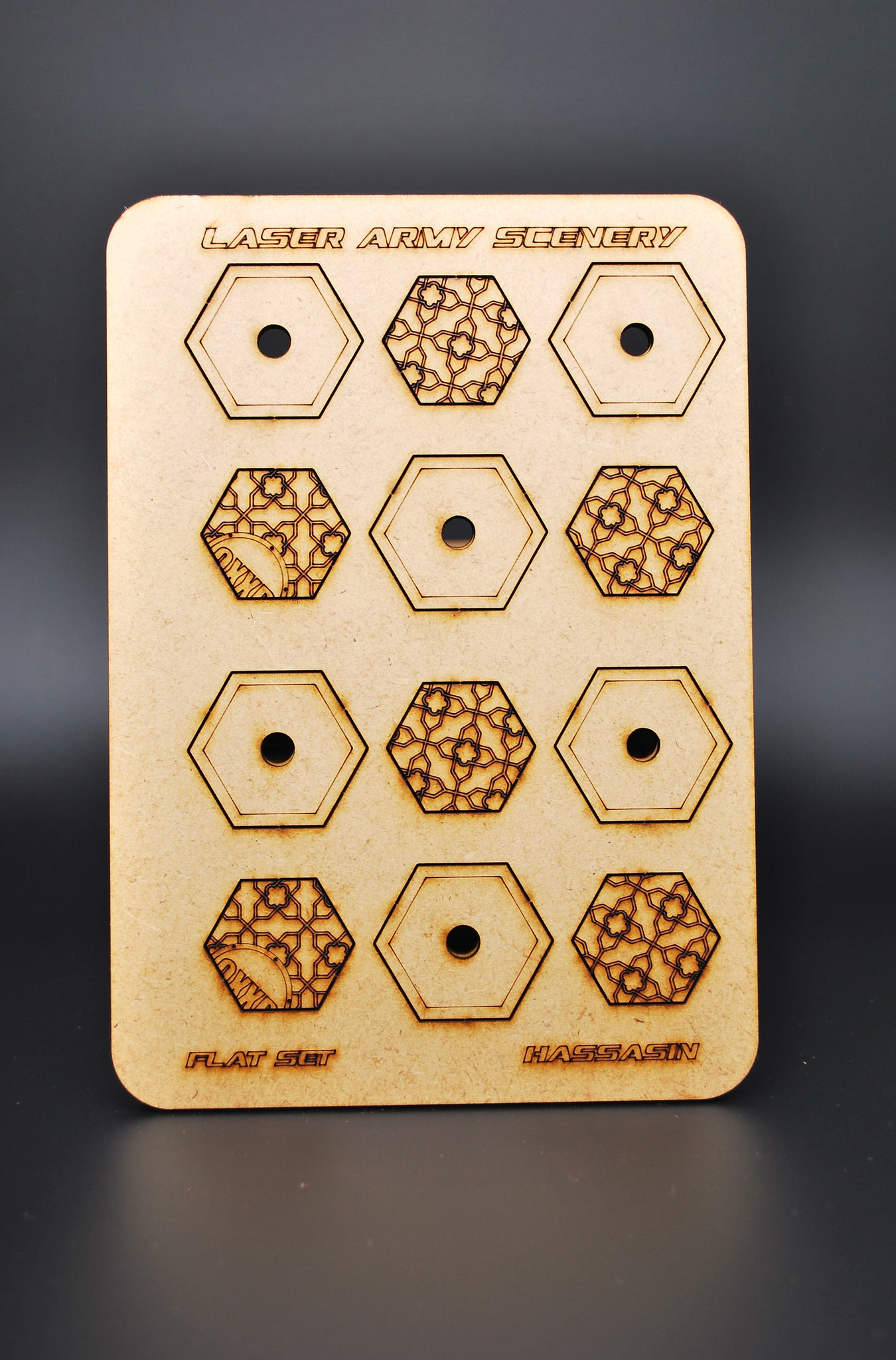 Hassasin hexagonal bases