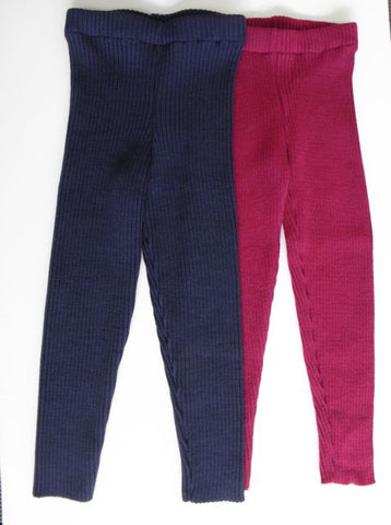 20% OFF Organic Merino Ribbed Kids Leggings