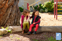 Organic Merino Children's Fleece Vests