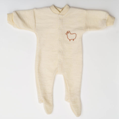 Premie Organic Merino Wool Sleep Suit