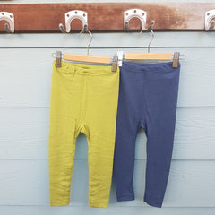 Organic Merino & Silk Childrens Leggings