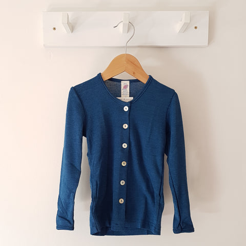 LAST ONE IN THIS COLOUR! Merino Wool & Silk Cardigan, SIZE 152 (10-11years)