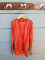 LAST ONE! Stripy Organic Merino Long Sleeved Shirt