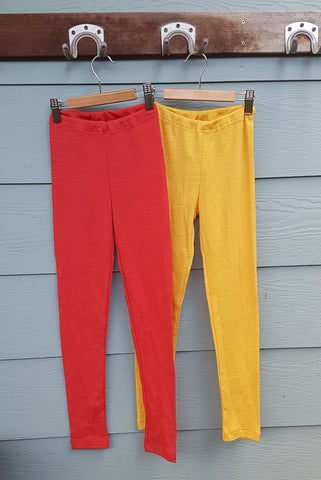 100% Organic Merino Childrens Leggings