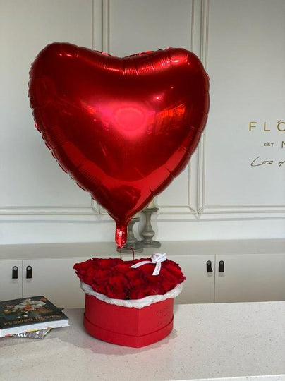 Heart Balloon - order in Flower Shop N5