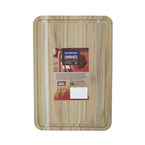 Tramontina Teak Wood Cutting Board without Handle - 400x270mm
